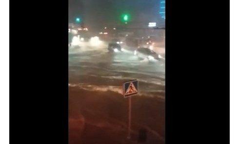 Ростов на Дону , потоп от дождя. Видео