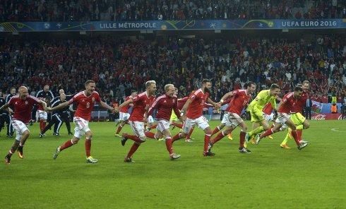 Футбол. Чемпионат Европы - 2016. Матч Уэльс - Бельгия