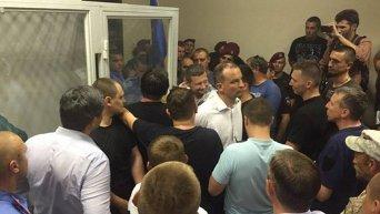 В суде из-за ареста командира Савченко разгорелся конфликт. Архивное фото