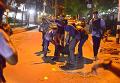 На месте захвата заложников в Бангладеш