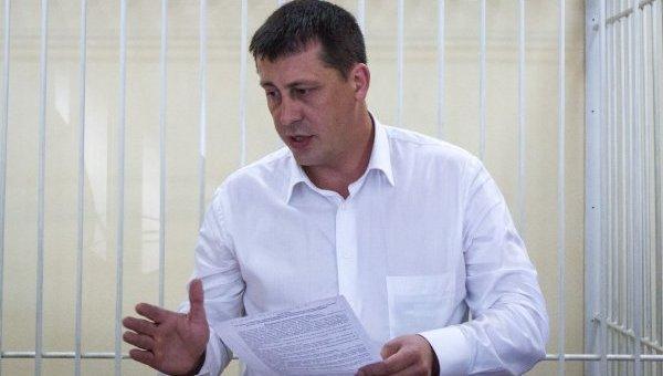 Святослав Протас на судебном заседании