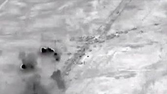 Уничтожение конвоя из 700 автомобилей с боевиками ИГ под Фалуджей. Видео