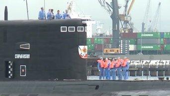 Новейшая подлодка Старый Оскол вошла в состав Черноморского флота РФ. Видео