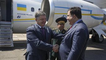 Визит Петра Порошенко в Одессу