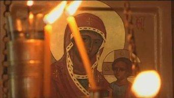 Митрополит Онуфрий благословил участников Всеукраинского Крестного хода