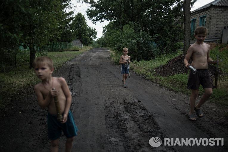 ВТорецке обстреляли жилые дома