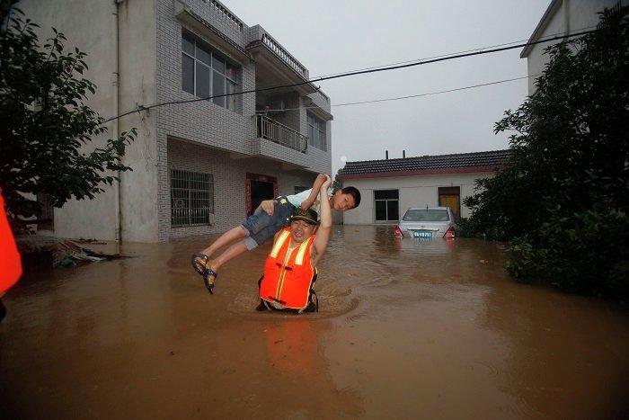 Наводнение в Нанкине