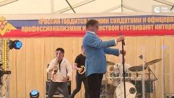 Лепс выступил на российской авиабазе Хмеймим
