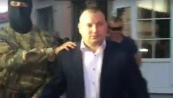 Задержание зампрокурора Ровненской области. Видео