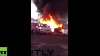 Взрыв в Медине. Видео