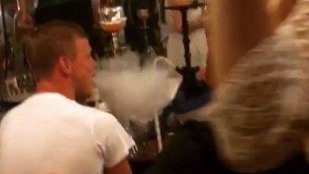 Курящего кальян под гимн России Кокорина сняли в Монте-Карло. Видео