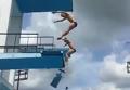 Под российским прыгуном в воду Назиным на сборе на Кубе обрушилась вышка