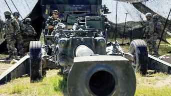 Международные учения НАТО Saber Strike 2016