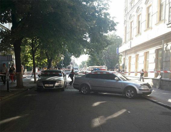 В Кировоградской области водитель совершил наезд на сотрудницу полиции