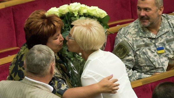 Людмилу Денисову поздравили коллеги