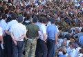 Беспорядки у здания МВД Абхазии