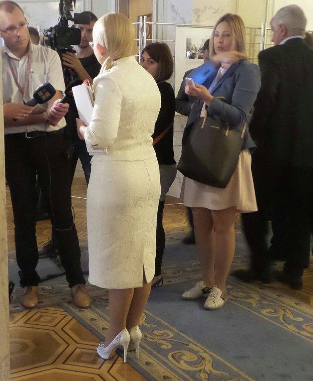 Новые туфли Юлии Тимошенко