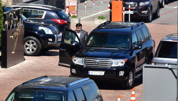 Глава Одесской облгосадминистрации Михаил Саакашвили