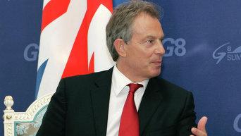 Экс премьер-министр Великобритании Энтони Блэр. Архивное фото