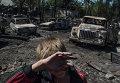 Последствия обстрела поселка Лозовое в Донецкой области