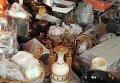Антикварные вазы и картины, найденные у Андрея Клюева в ходе обыска