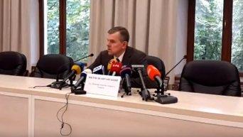 И.о. главы Минздрава Шафранский о задержании его заместителя на взятке. Видео