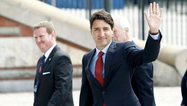 Вылетевший вБрюссель самолёт премьера Канады вернулся ваэропорт из-за неисправности
