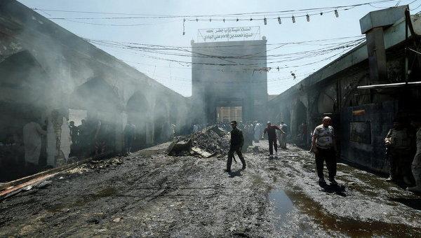 Теракт в Багдаде. Архивное фото