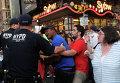 Акции протеста в Нью-Йорке в связи с убийствами полицейскими двух афроамериканцев