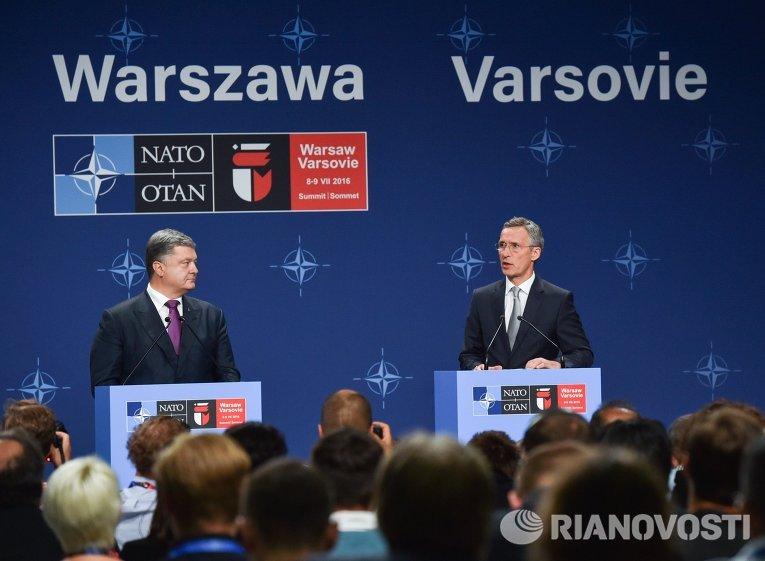 НАТО призывает столицу закончить поддержку сепаратистов наДонбассе