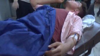 Джебхат ан-Нусра обстреляла общежития в Алеппо, погибли более 30 человек (18+). Видео