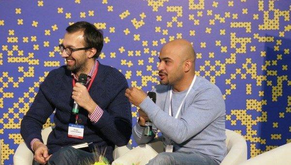 Сергей Лещенко и Мустафа Найем