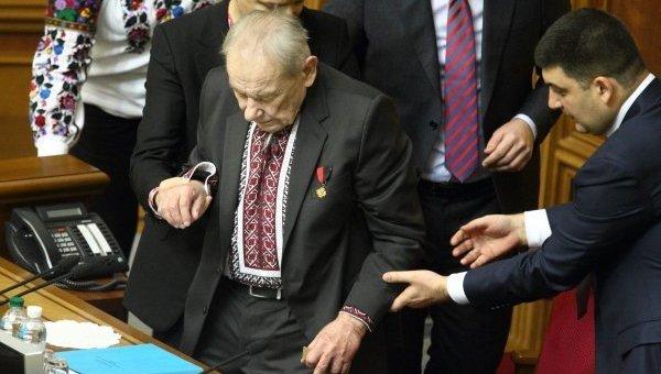 Народный депутат Юрий-Богдан Шухевич. Архивное фото