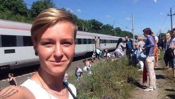 Задымление в вагоне Интерсити Киев-Одесса