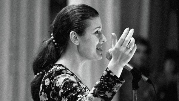 Певица Валентина Толкунова. Архивное фото