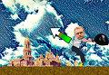В сети появилась игра, в которой Садовый забрасывает мусор в Киев
