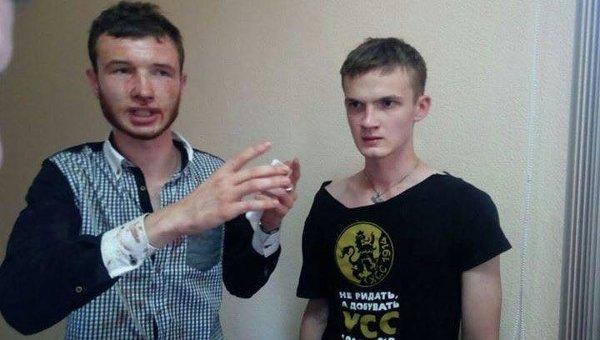 Избитые во время задержания по делу Бузины активисты