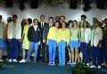 Украинские спортсмены показали новую форму олимпийской сборной