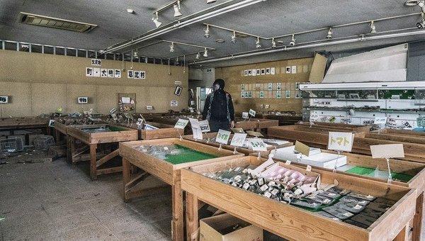 Зона отчуждения в префектуре Фукусима, Япония