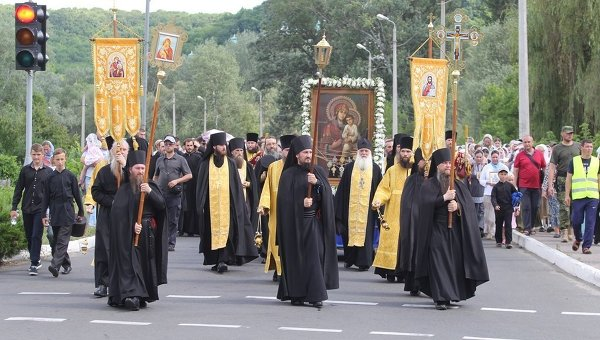 Крестный ход в Украине