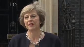 Первое заявление Терезы Мэй на посту премьера Британии. Видео