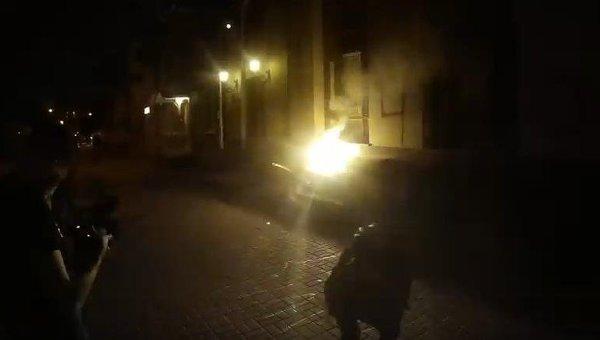 Ночное нападение на здание Российского центра науки и культуры