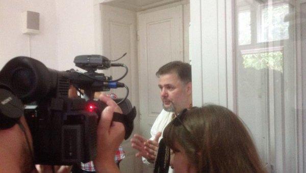 Журналист Руслан Коцаба. 14 июля 2016 год