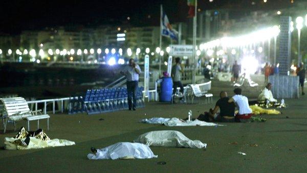 Раненые и погибшие в кровавом теракте в Ницце