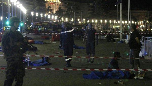 Раненые и погибшие в результате теракта в Ницце
