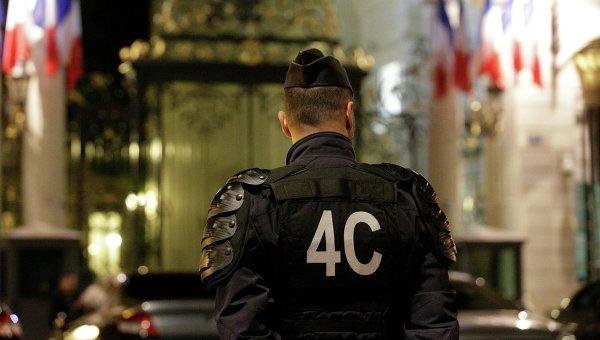 Полиция Франции в Ницце. Архивное фото