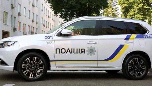 Полицейский автомобиль Mitsubishi Outlander PHEV