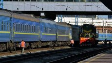 Пассажирские поезда. Архивное фото