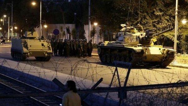 Ситуация в Турции после попытки военного переворота