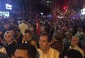 Жители Анкары и Стамбула выходят на улицы